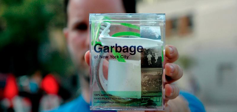 La basura que no nos sirve, otro la vende. NYC GARBAGE.