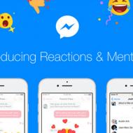 Facebook ahora permite reaccionar y mencionar en chats