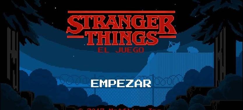 ¡Stranger Things ya tiene videojuego!