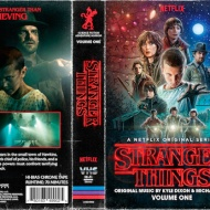 ¡Stranger Things en VHS!